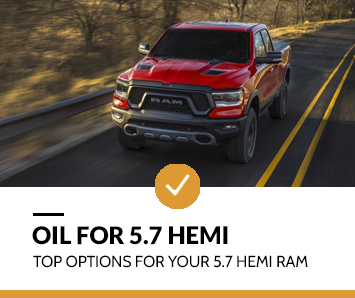 best oil for 5.7 hemi