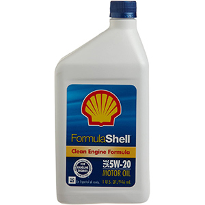 Formula Shell Conventional Motor Oil 5W-20
