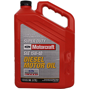 Genuine Ford Motorcraft 15W-40 Super Duty Diesel Oil