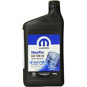 Mopar 68024966MA Engine Oil SAE 15W-40