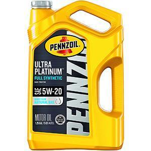 Pennzoil Ultra Platinum Synthetic Motor Oil 5W-20