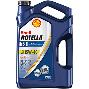 Shell Rotella T6 Synthetic Blend 15W-40