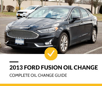 2013 Ford Fusion Oil Change