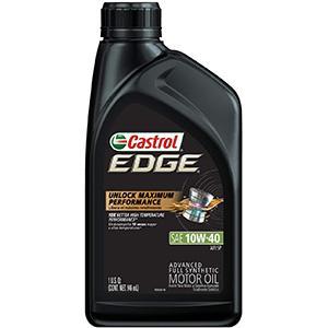 Castrol Edge Advanced Full Synthetic 10W-40 Motor Oil