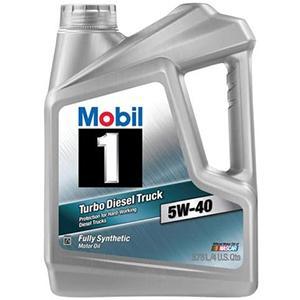Mobil 1 Turbo Diesel Truck 5W-40 Motor Oil