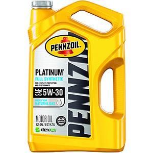 Pennzoil Platinum Full Synthetic 5W-30 Motor Oil