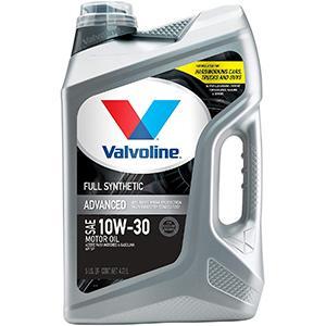 Valvoline Advanced Full Synthetic 10W-30 Motor Oil