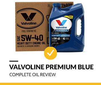 Valvoline Premium blue review