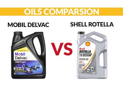 Mobil Delvac vs Shell Rotella Comparsion