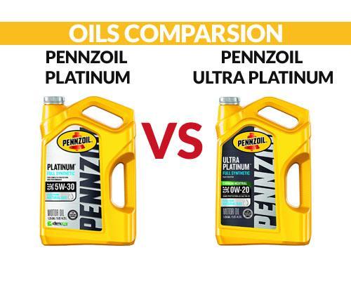 Pennzoil Platinum vs Ultra Platinum Comparsion