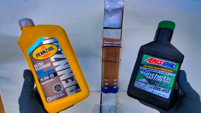 Pennzoil Ultra Platinum vs Amsoil Comparsion