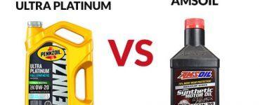 Pennzoil Ultra Platinum vs Amsoil