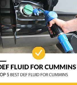 Best DEF Fluid for Cummins