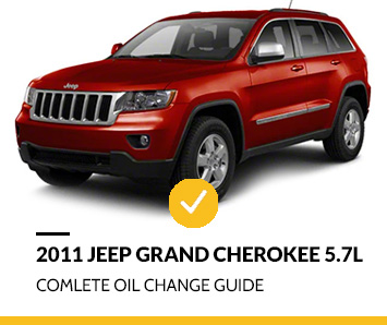 2011 Jeep Grand Cherokee 5.7 Oil Changing