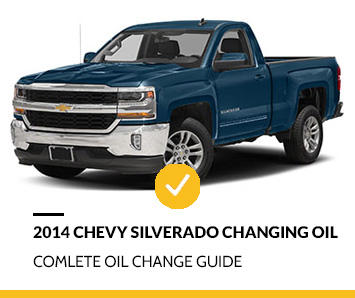 2014 Chevy Silverado Changing Oil Guide