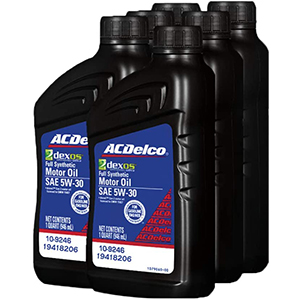 ACDelco Full Synthetic Advanced 5W-30 Motor Oil