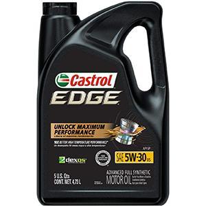 Castrol Edge Full Synthetic 5W-30 Motor Oil