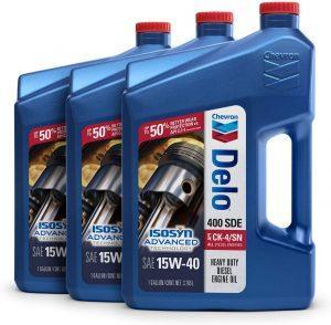 Chevron Delo 400 SDE Heavy Duty 15W-40 Diesel Engine Oil