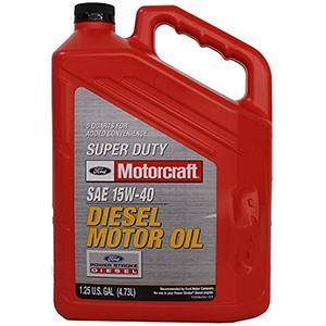Ford Motorcraft Super Duty 15W-40 Diesel Engine Oil