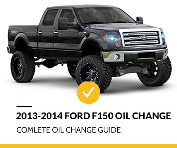 How to Change 2013-2014 Ford F150 Oil