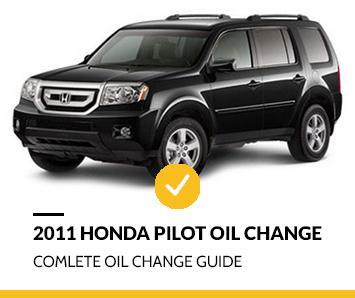 2011 Honda Pilot Oil Change