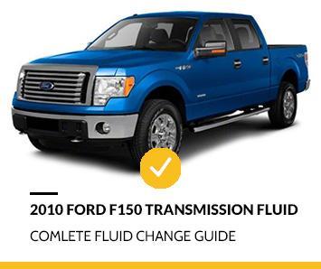 2010 Ford F150 Transmission Fluid Change