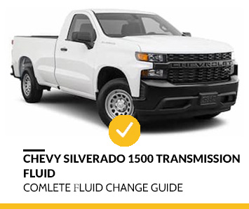 How to change transmission fluid Chevy Silverado 1500
