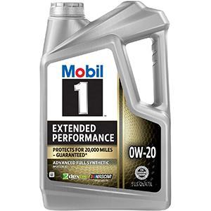 Mobil 1 Extended Performance Full Synthetic 0W-20 Motor Oil