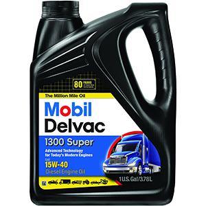 Mobil Delvac 1300 Super 15W-40 Diesel Engine Oil