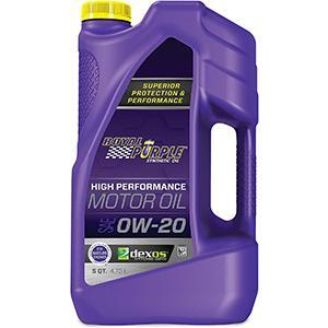 Royal Purple High-Performance 0W-20 Motor Oil