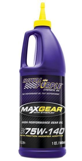 Royal Purple ROY01301 MAX GEAR 75W140