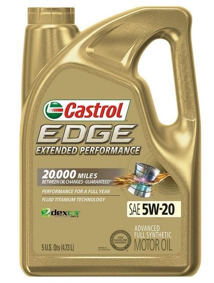 Castrol Edge 1598EF Extended Performance Full Synthetic Oil