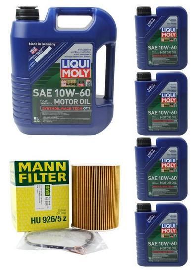 08-13 BMW M3 E90/ E92/ E93 4.0L OIL CHANGE KIT W/LIQUIMOLY 10W-60
