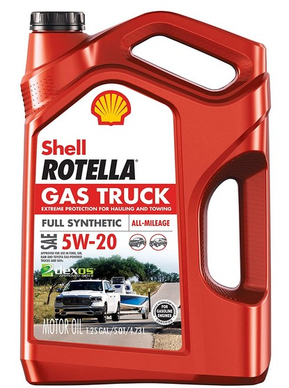Shell Rotella Gas Truck Full Synthetic Motor Oil