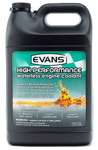EVANS Cooling Systems Waterless Engine Coolant with Funnel