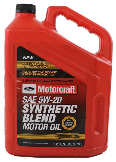 Genuine Ford 5W-20 Premium Synthetic Oil