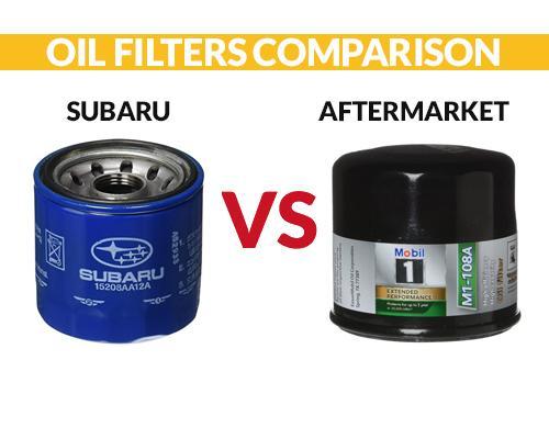 Subaru Oil Filter VS Aftermarket Comparison