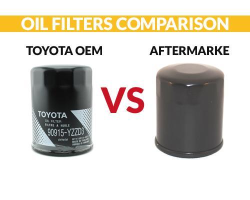 Toyota OEM Oil Filter VS Aftermarket Comparison